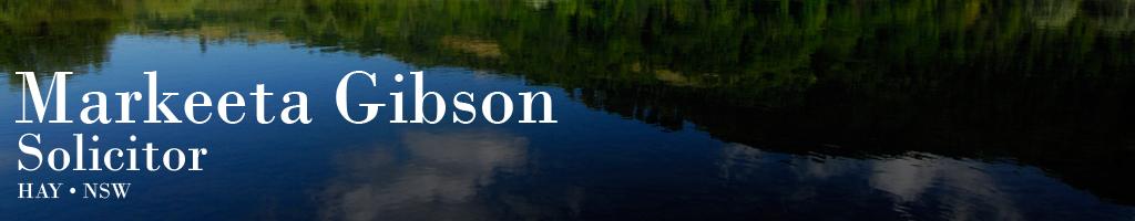 Markeeta Gibson Logo